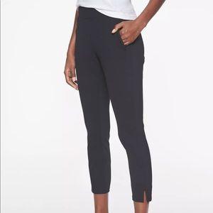 Athleta Modern Metro Capri Pant Black Pockets XS